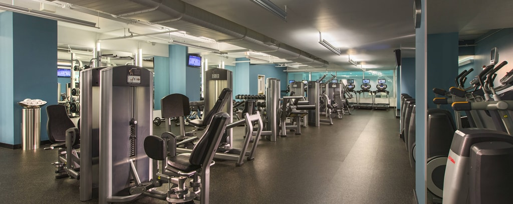 Fitness center nel centro di Chicago
