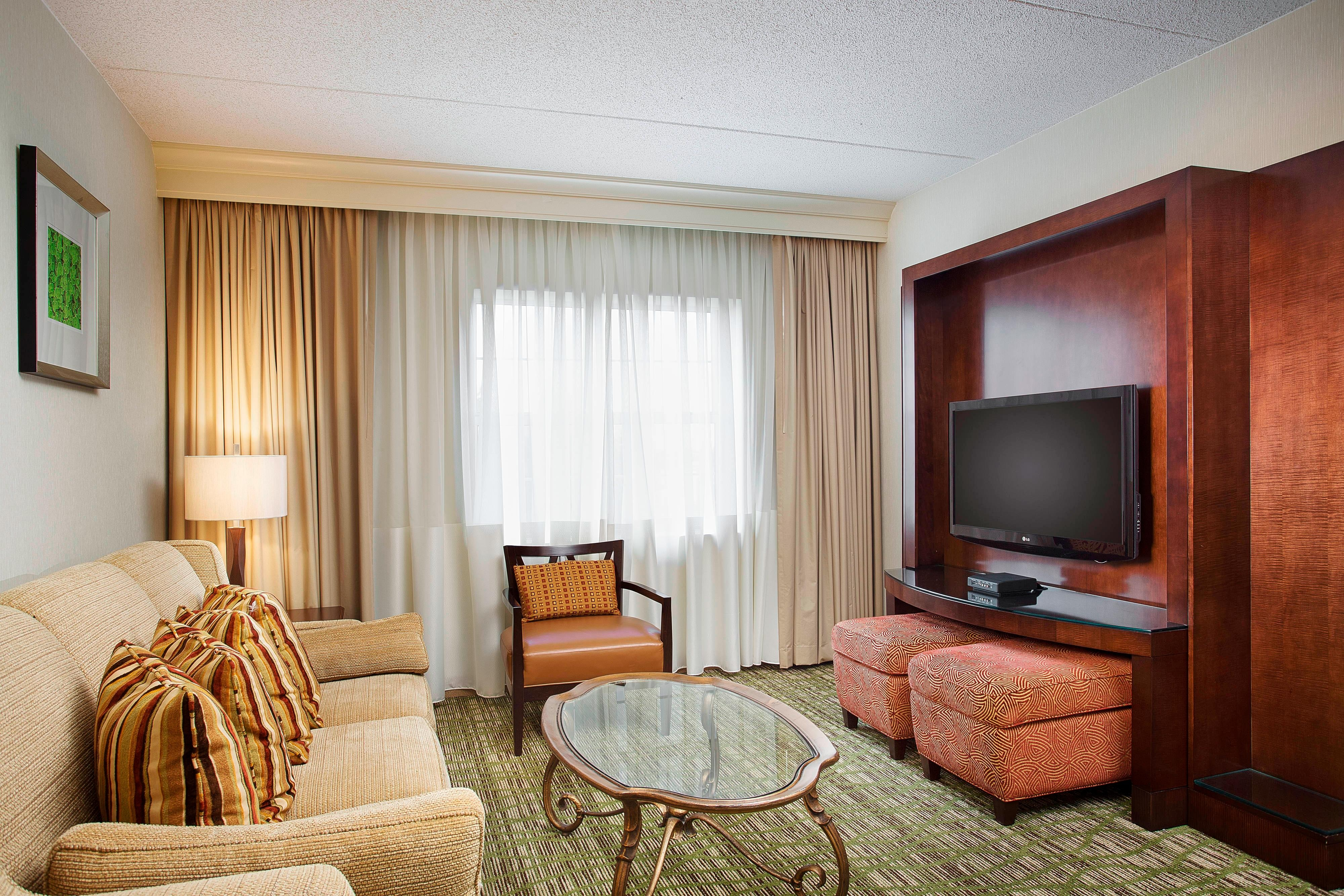 Midway Airport Suite Living Room