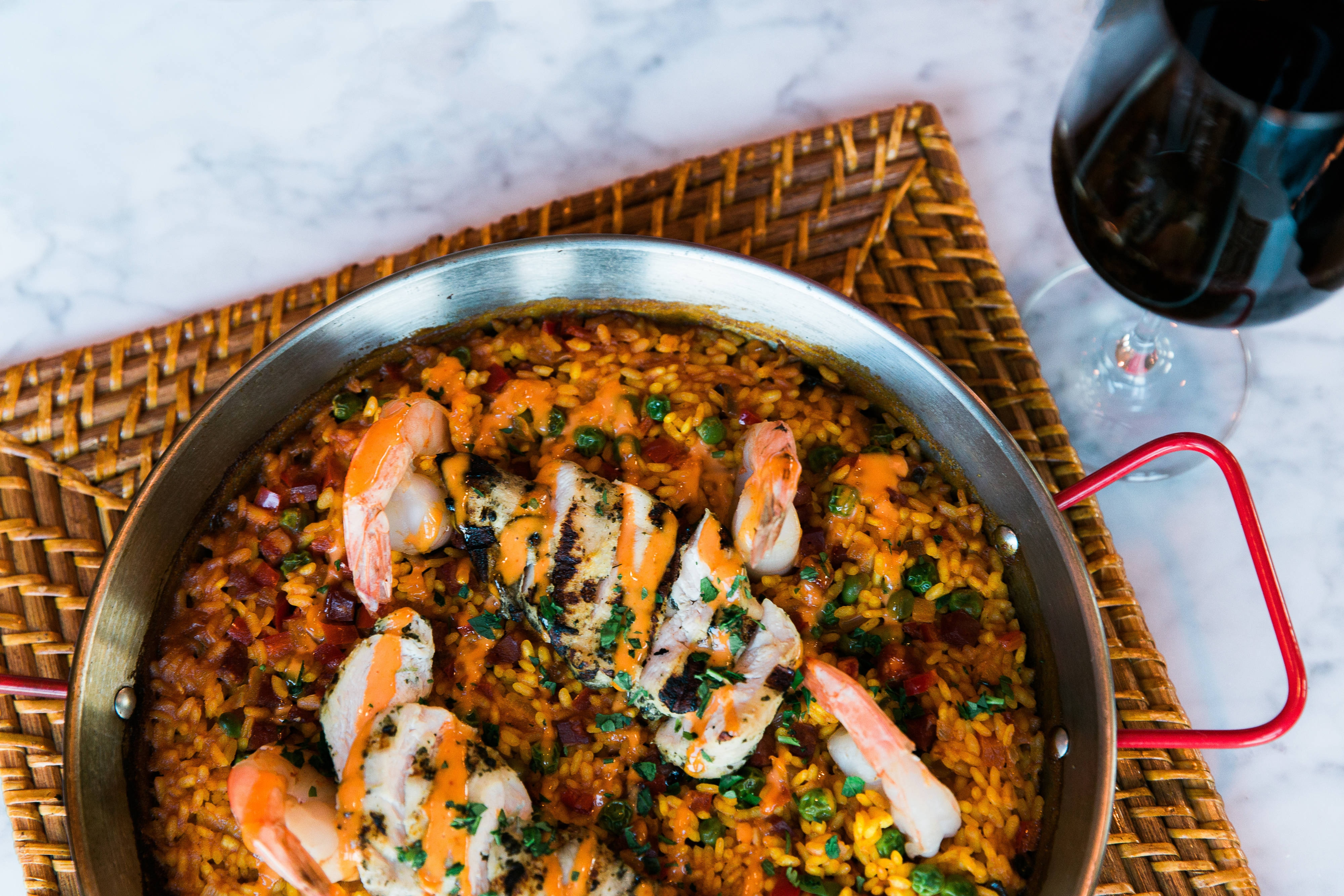 El Tapeo Paella and Wine