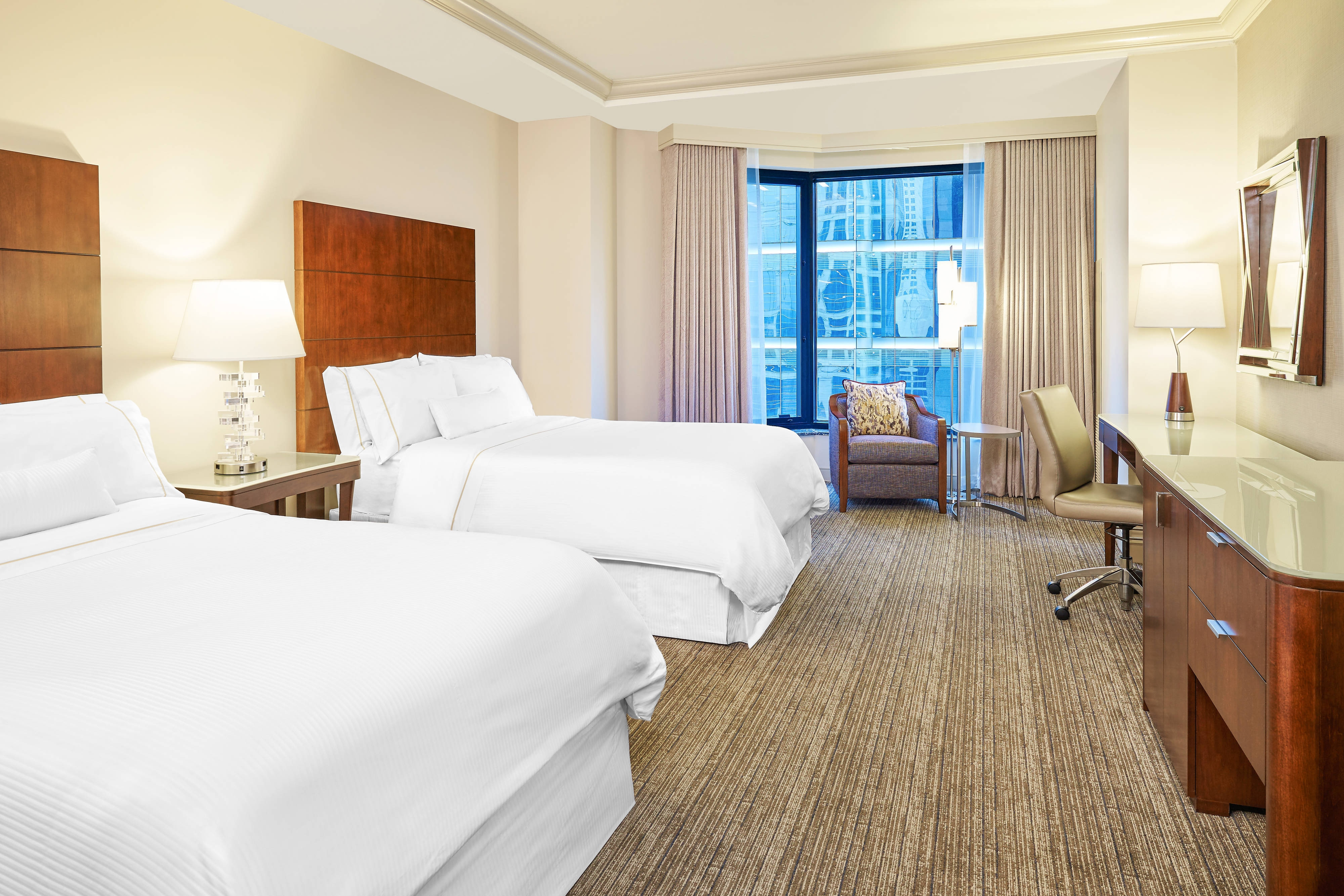 Deluxe City View Guest Room