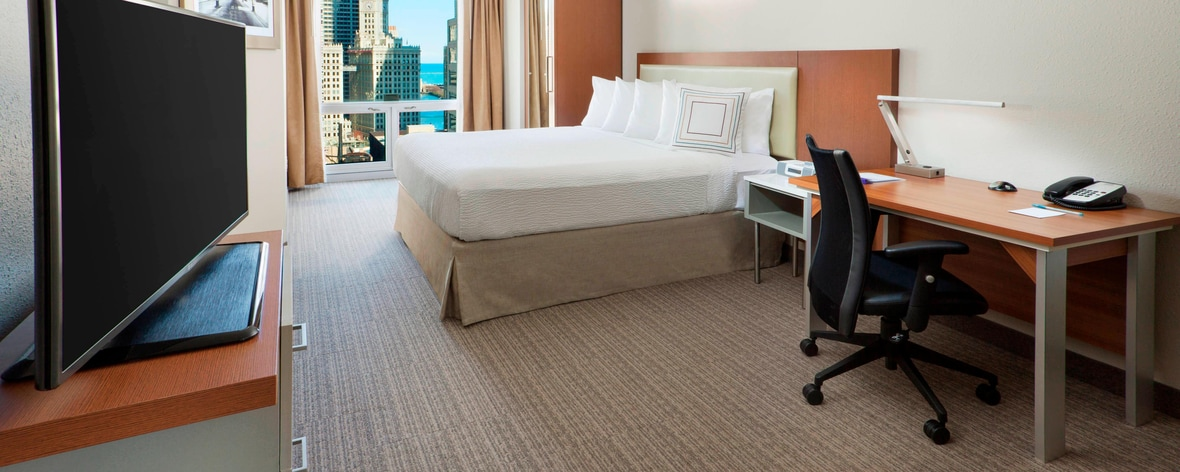 Suite del SpringHill Suites Chicago Downtown/River North