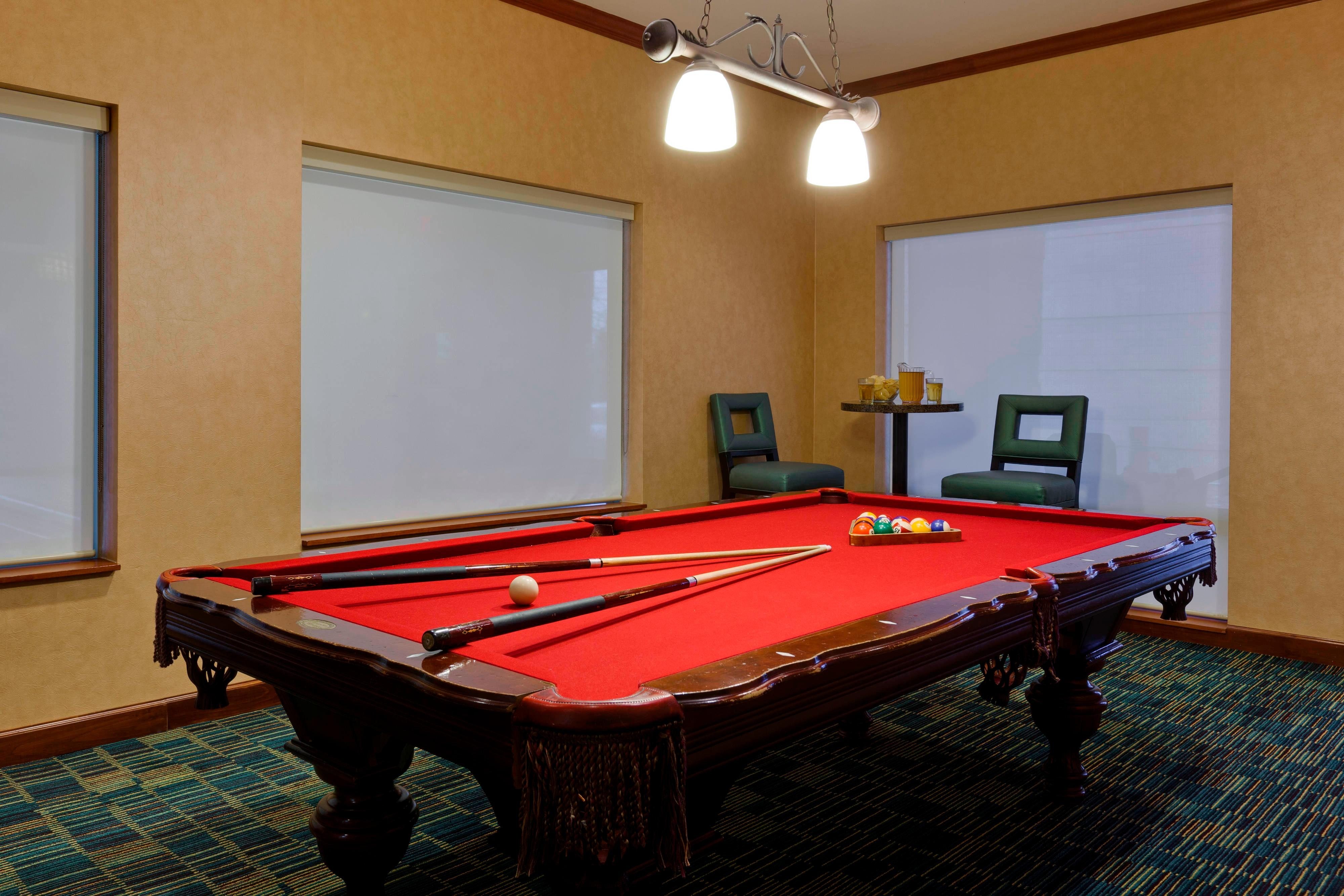 Naperville Hotel Game Room