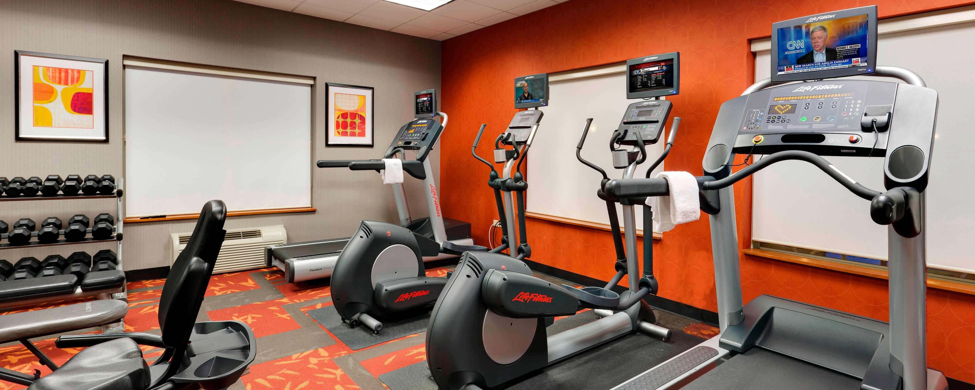 Naperville Hotel Gym