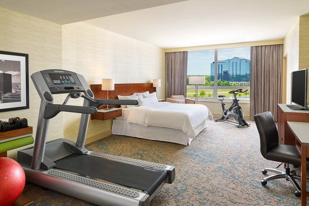 Westin Workout Guest Room