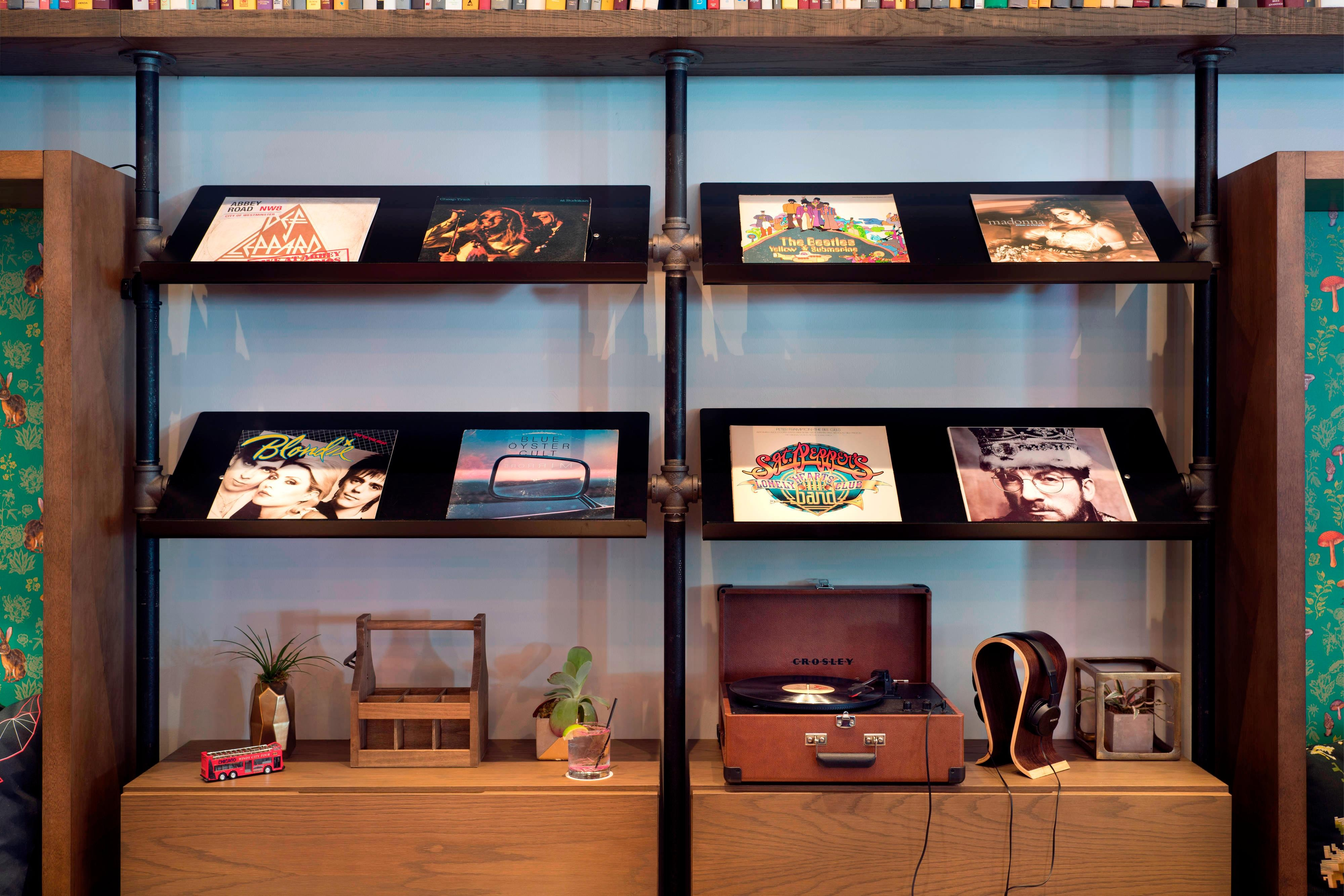 The Library - Moxy Vinyl Collection