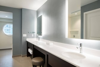 Three-Bedroom Penthouse Bathroom Vanity