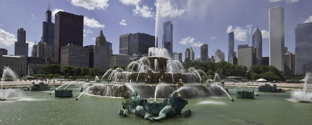 Buckingham Fountain - Grant Park