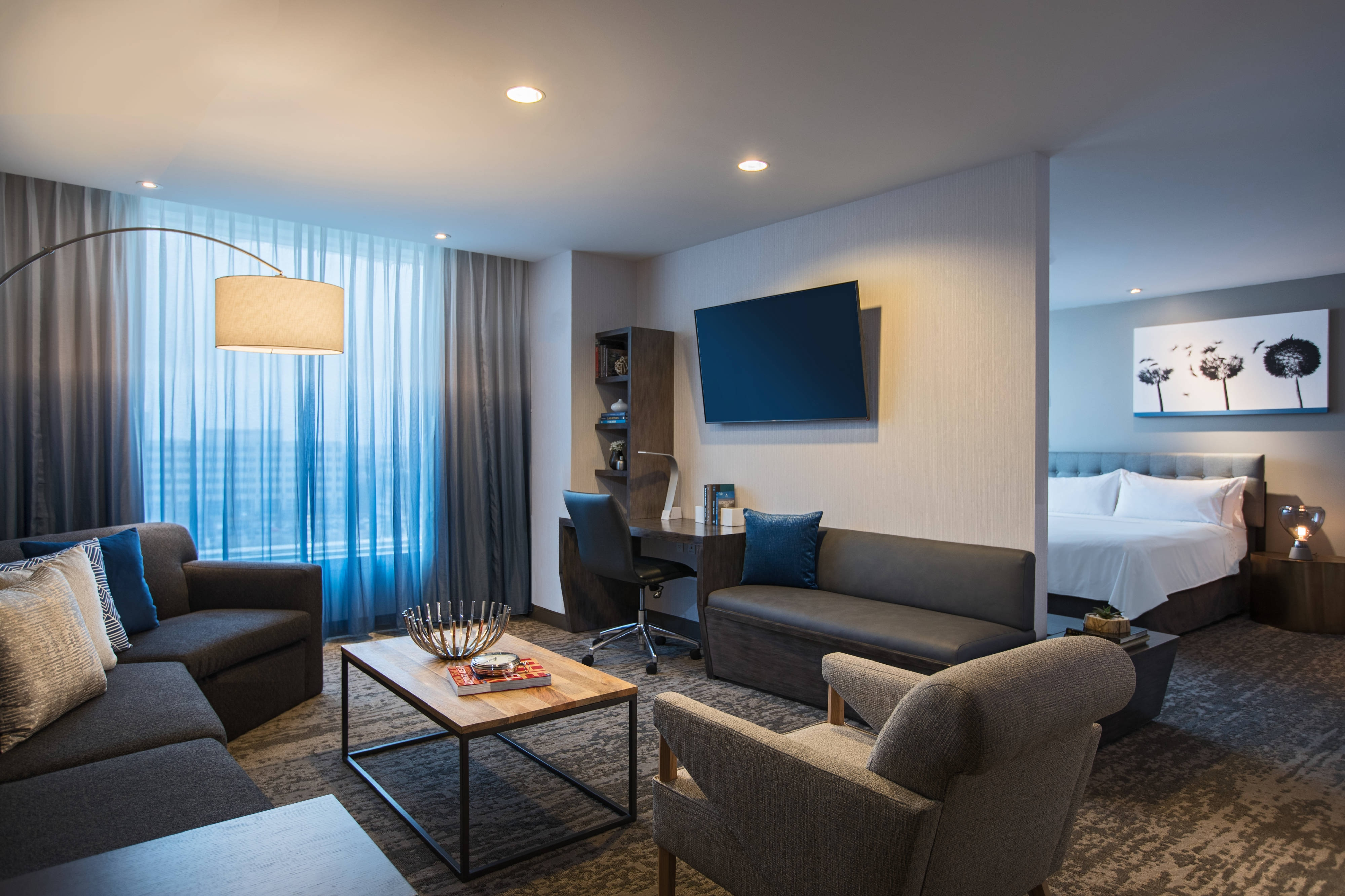 Executive King Suite - Living Room