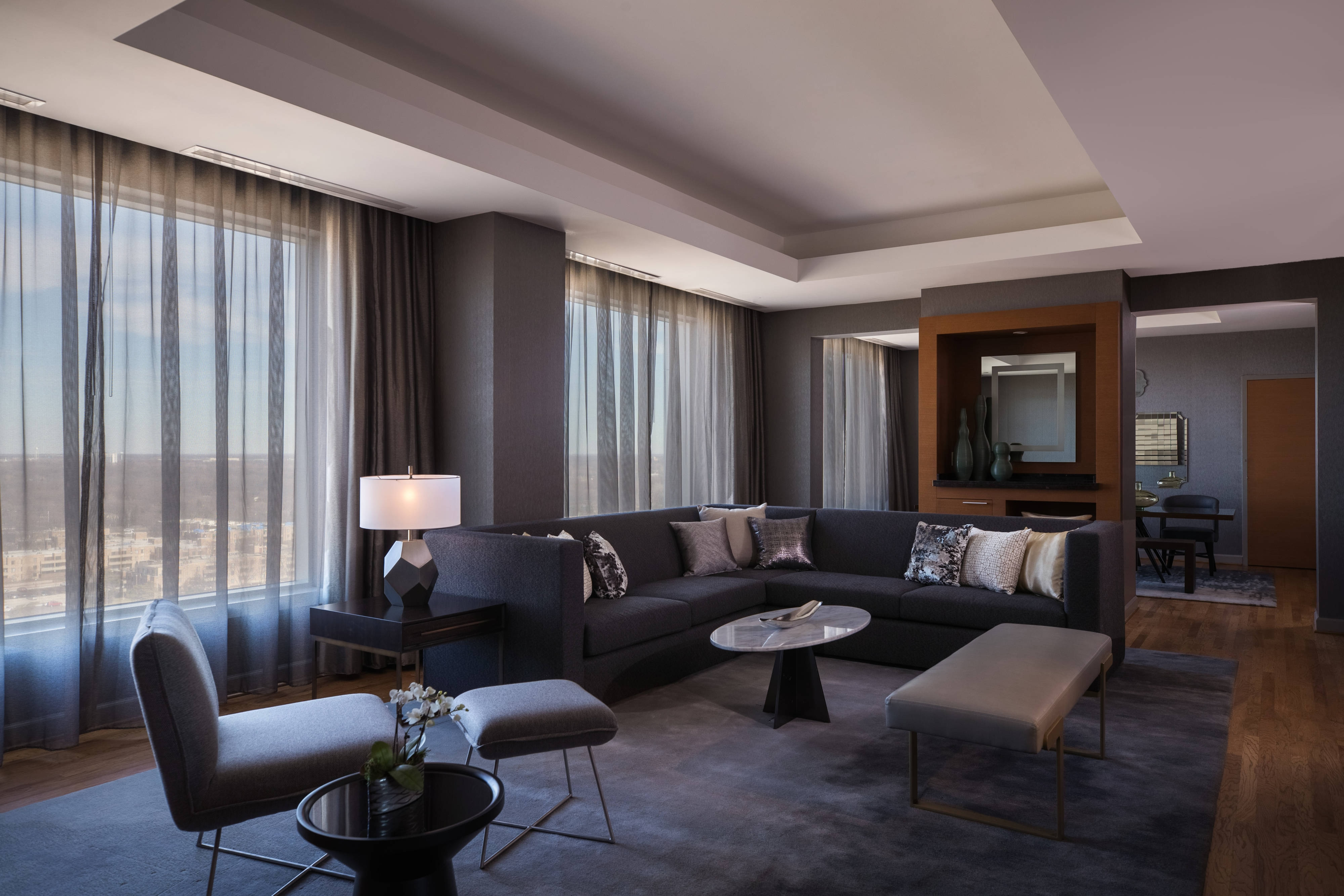 Aster Suite - Living Area