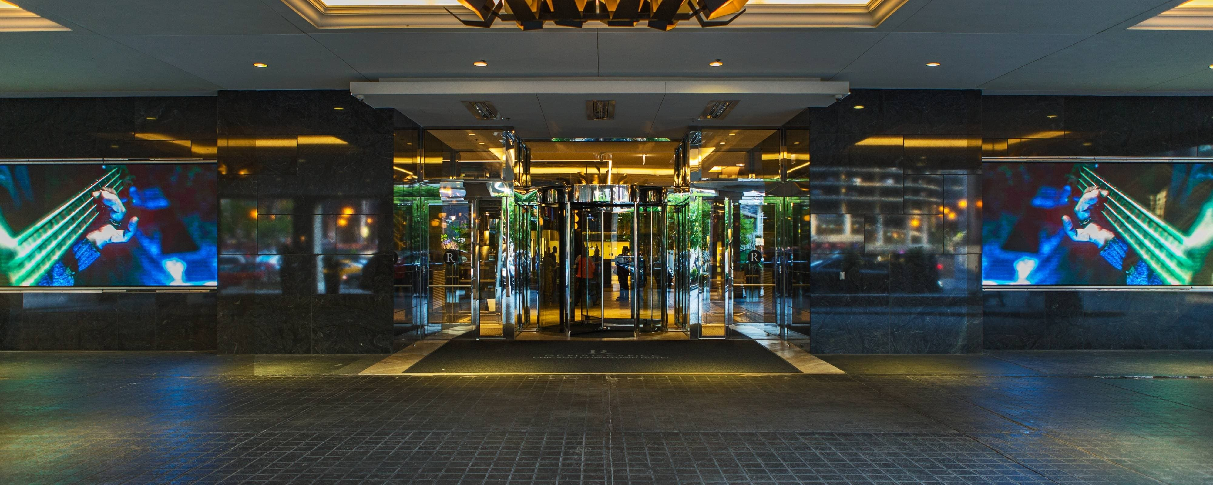 Chicago Hotel Entrance