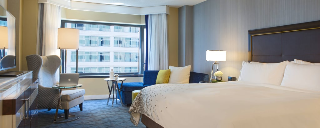 Chicago hotel with city view