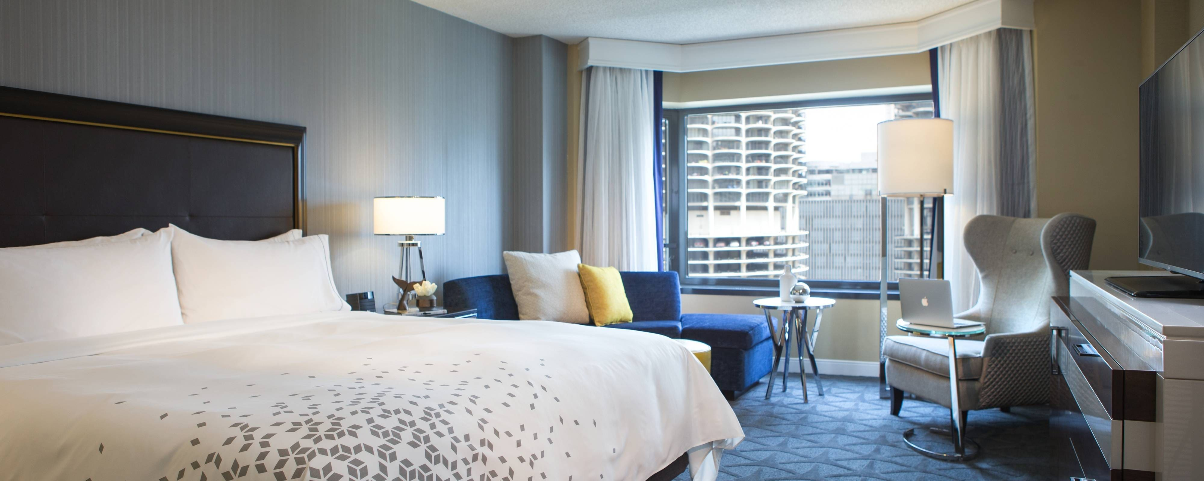 Chicago accommodations - river view
