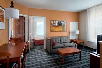 Lombard Il Hotel Two Bedroom Suite Towneplace Suites Chicago Lombard
