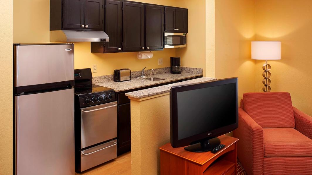 Suite mit Küche und zwei Schlafzimmern