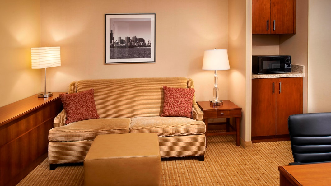 Suite au Courtyard Chicago Downtown/River North