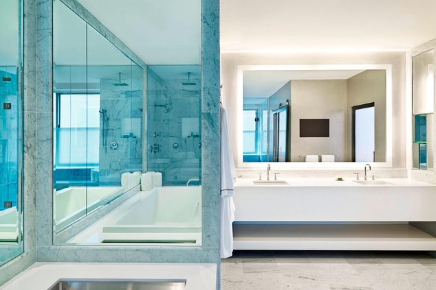 The EWOW Master Bathroom