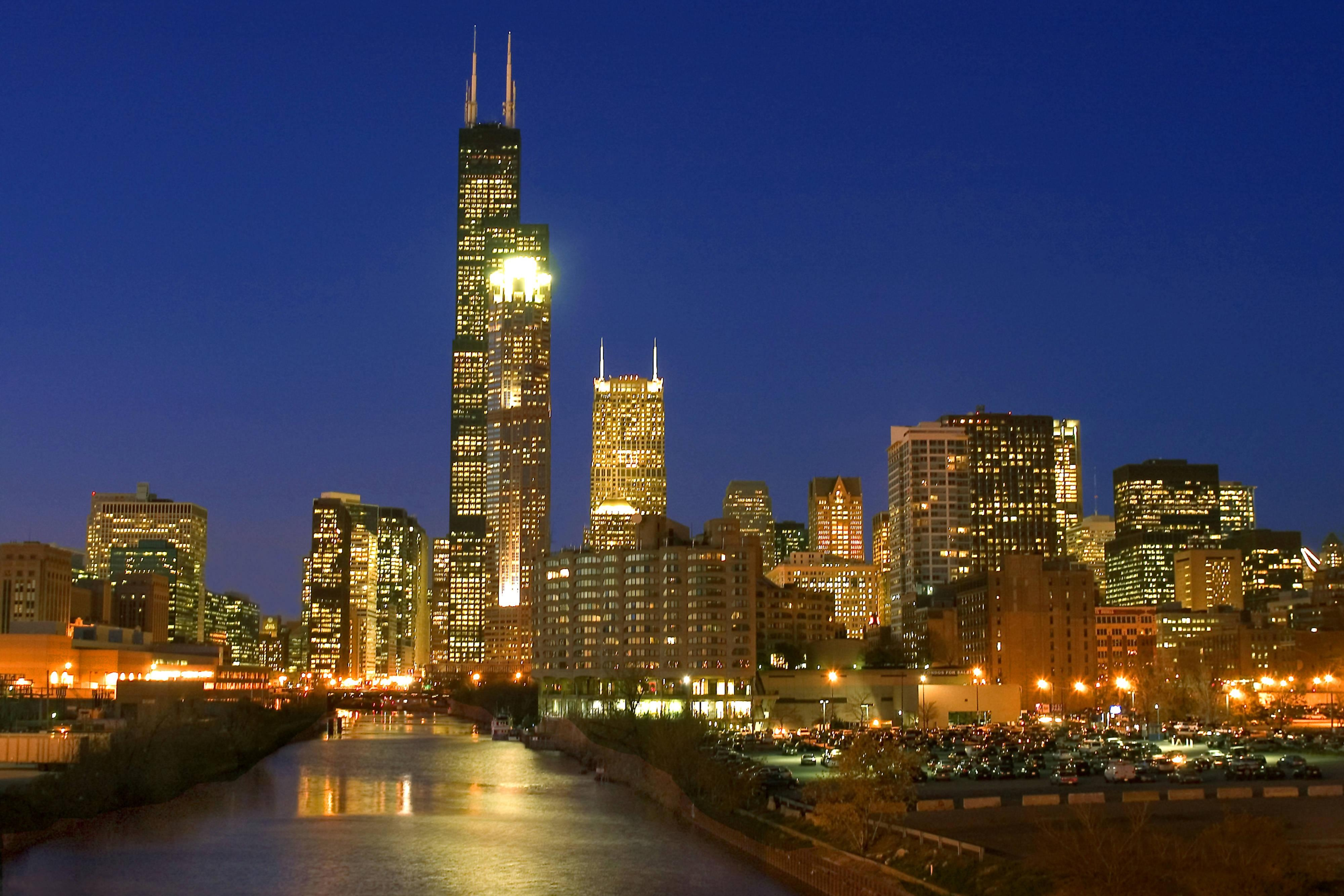 ChicagoSkyline - Night