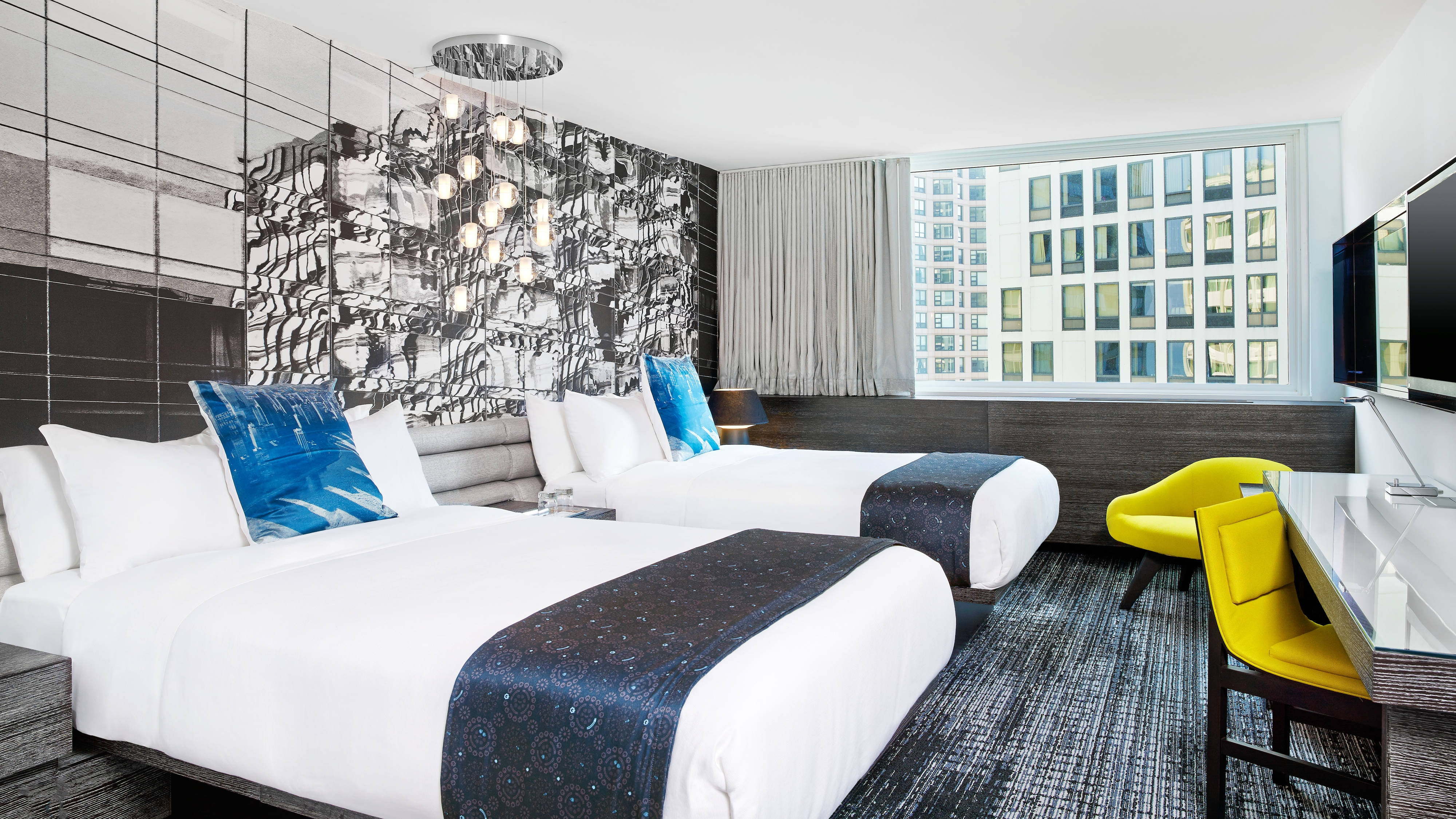 Spectacular Double Double Guest Room
