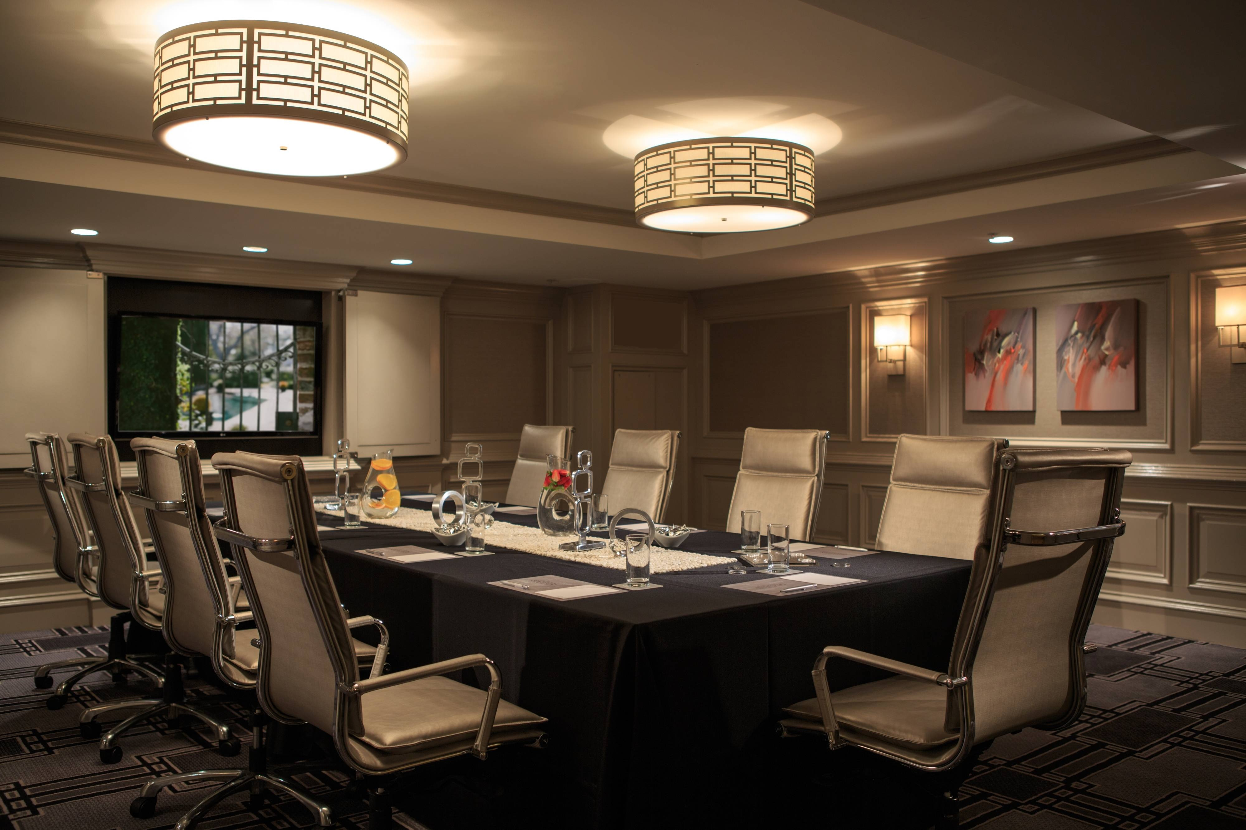 Charleston conference hotel boardroom