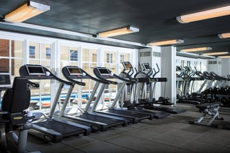 Charleston hotel fitness center
