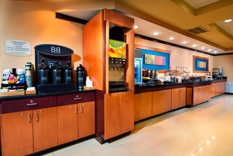 Charleston Airport Hotel Breakfast Buffet