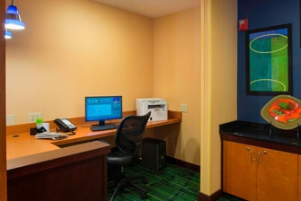 Charleston airport hotel business center