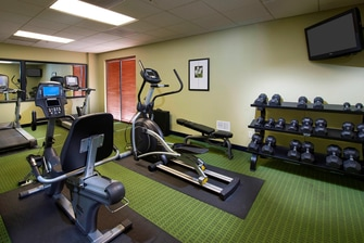 Charleston airport hotel fitness center