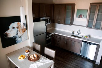 Two-Bedroom Suite – Lake View – Kitchen Area