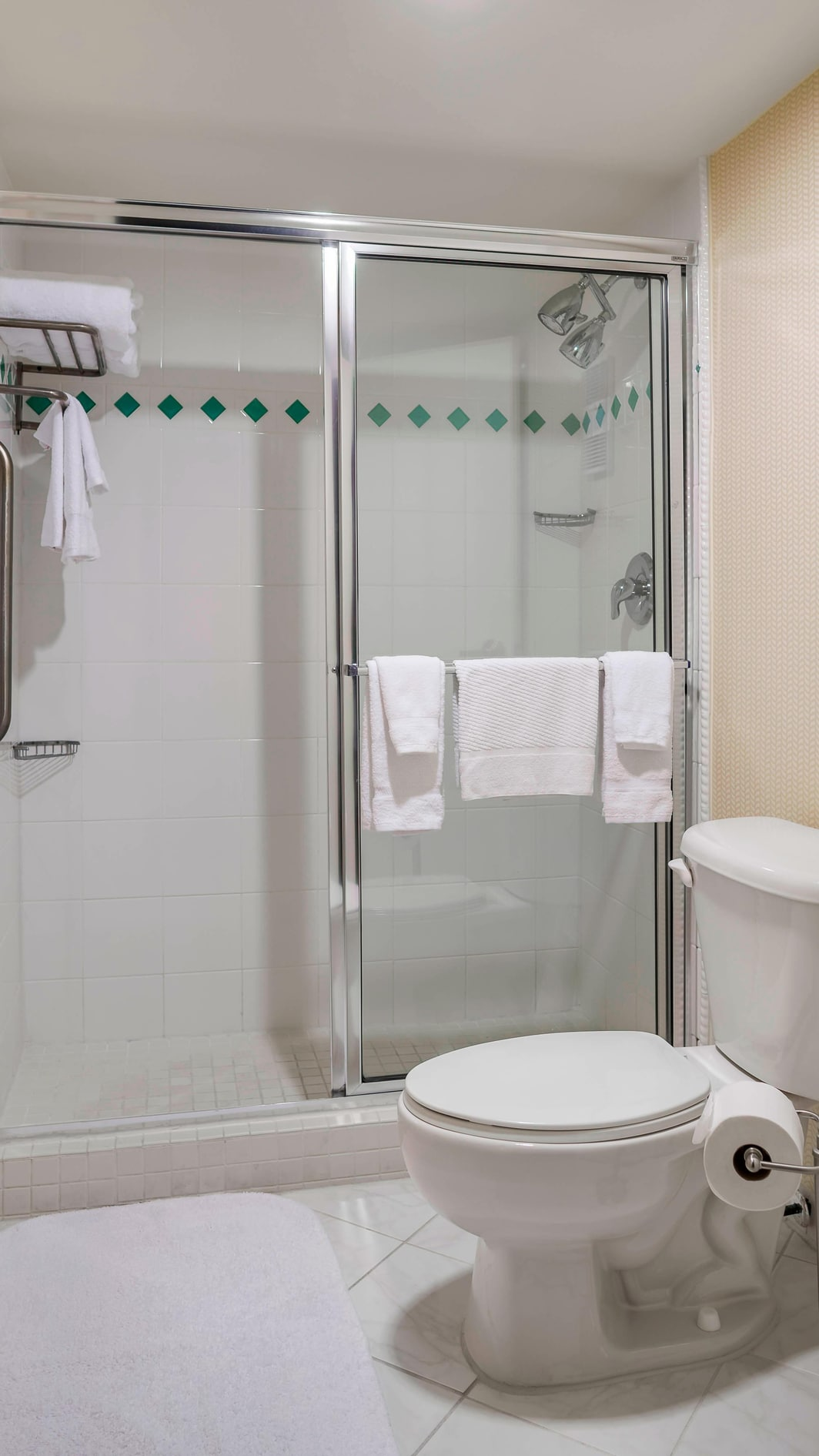Salle de bains de l'hôtel de luxe de Charleston