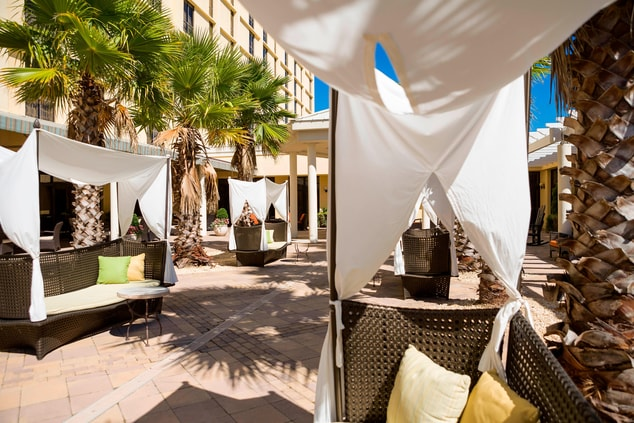 Outdoor Cabanas in Charleston near downtown