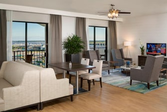 Marriott Concierge Lounge in Charleston SC