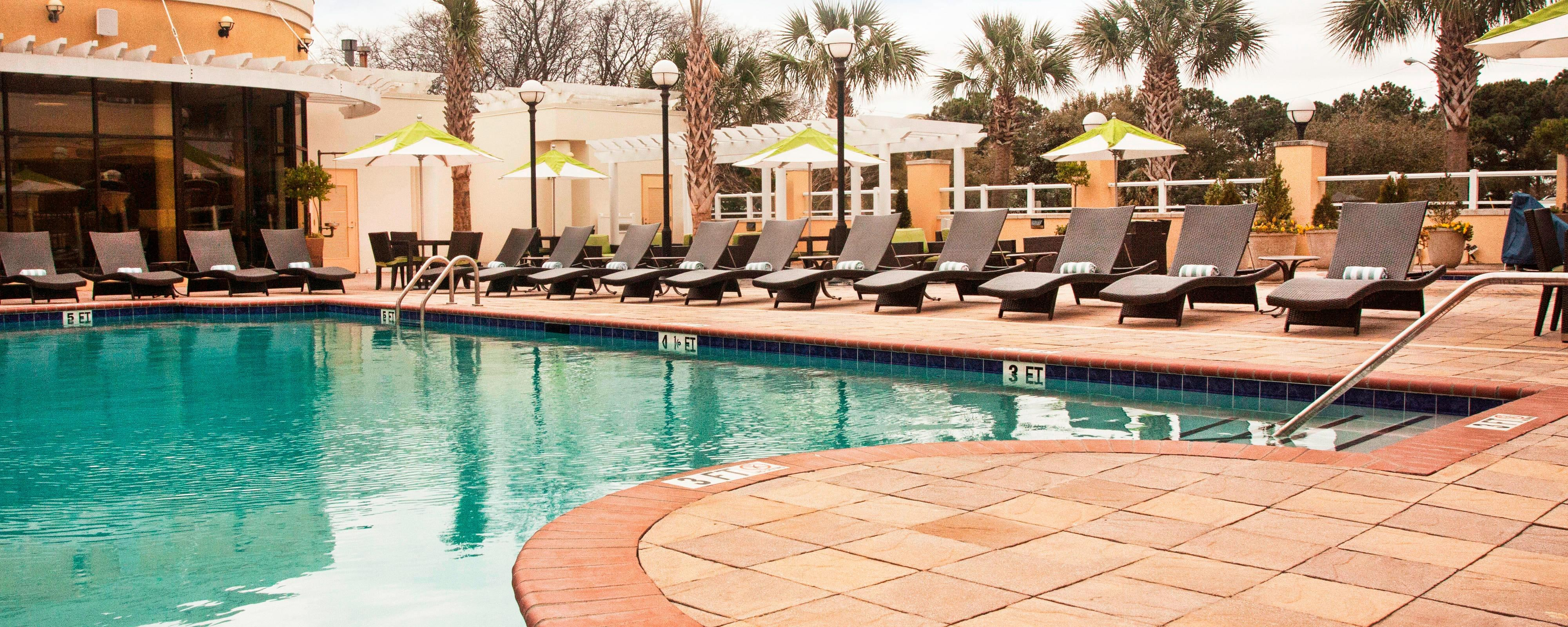 Hotelpool und Spa in Charleston