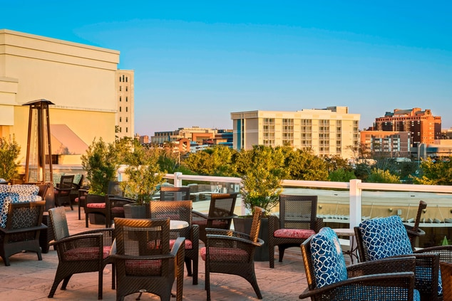 Downtown Charleston roof top bars
