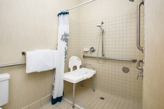 Chico California Hotel Accessible Shower