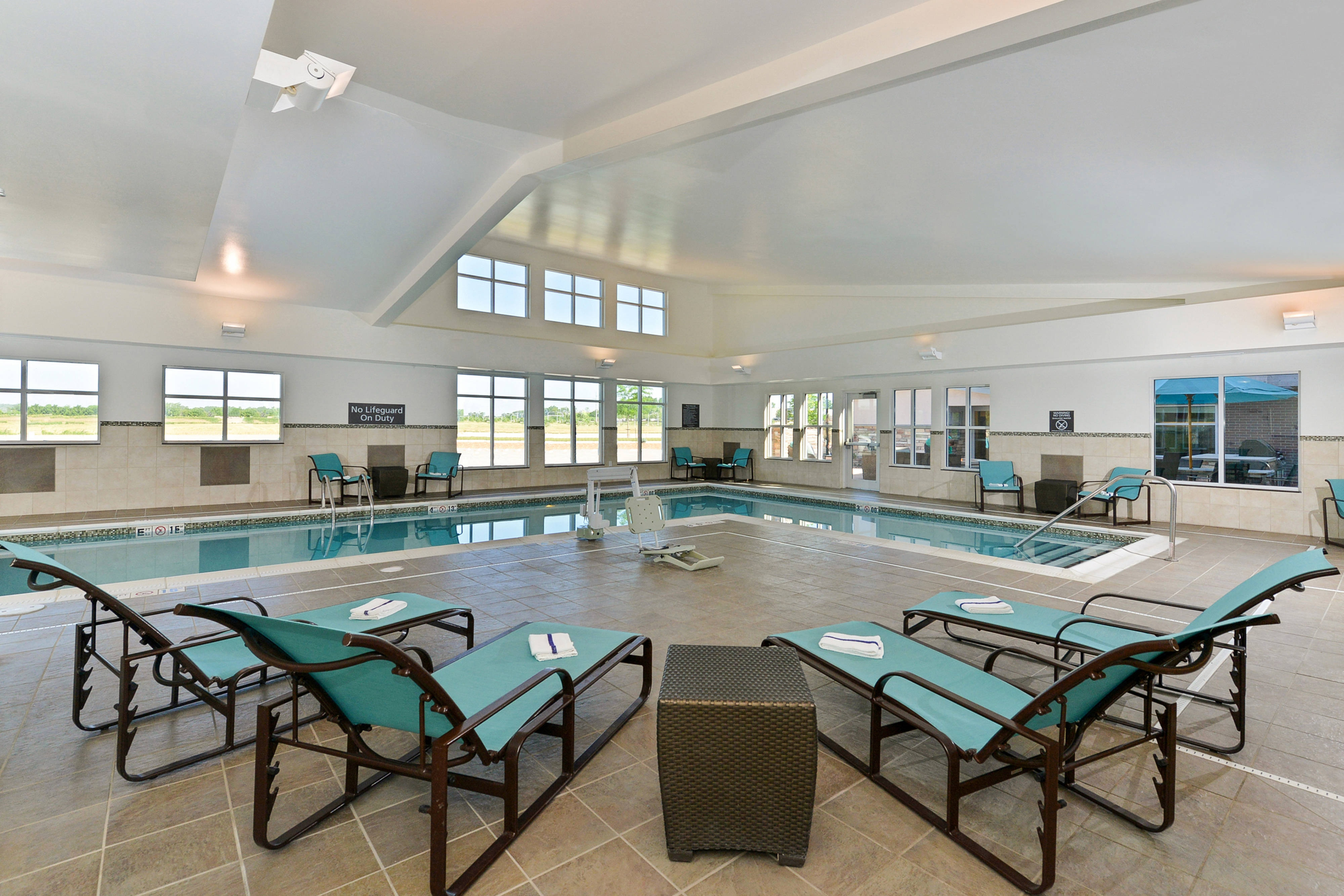 Swim Inside our Coralville Pool