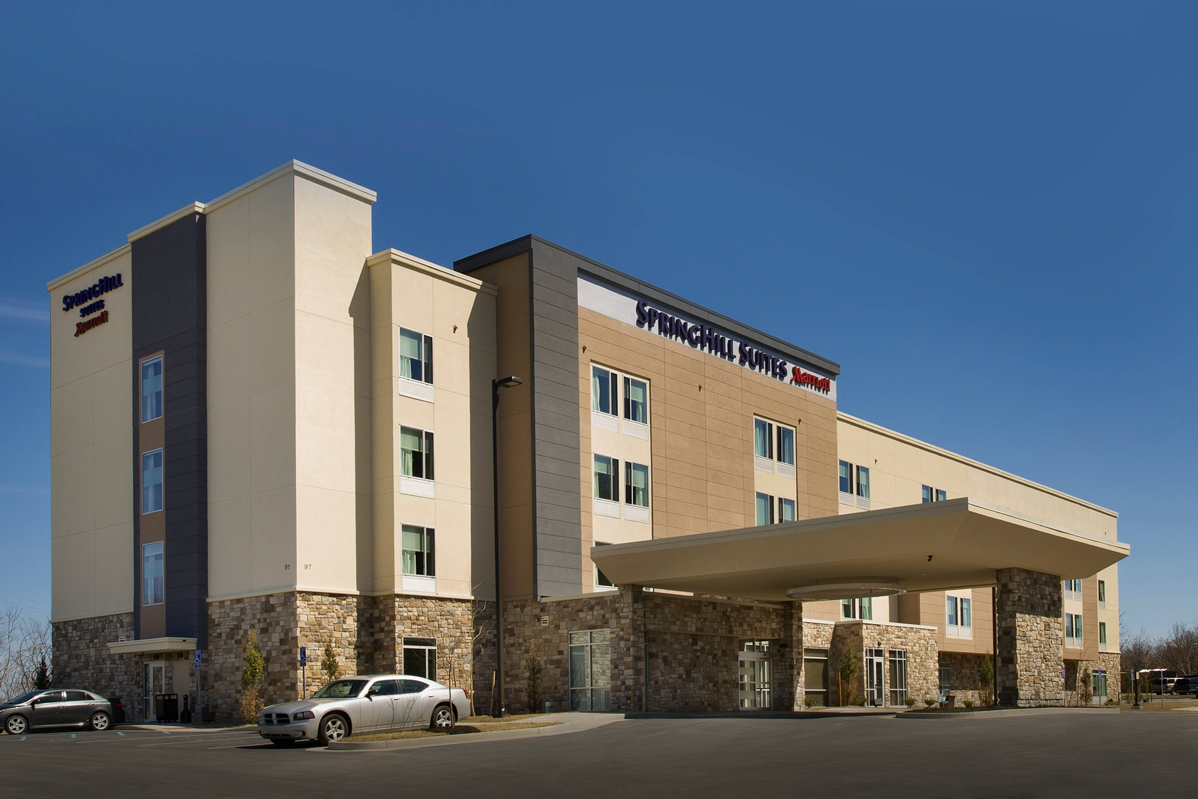New SpringHill Suites Bridgeport Hotel
