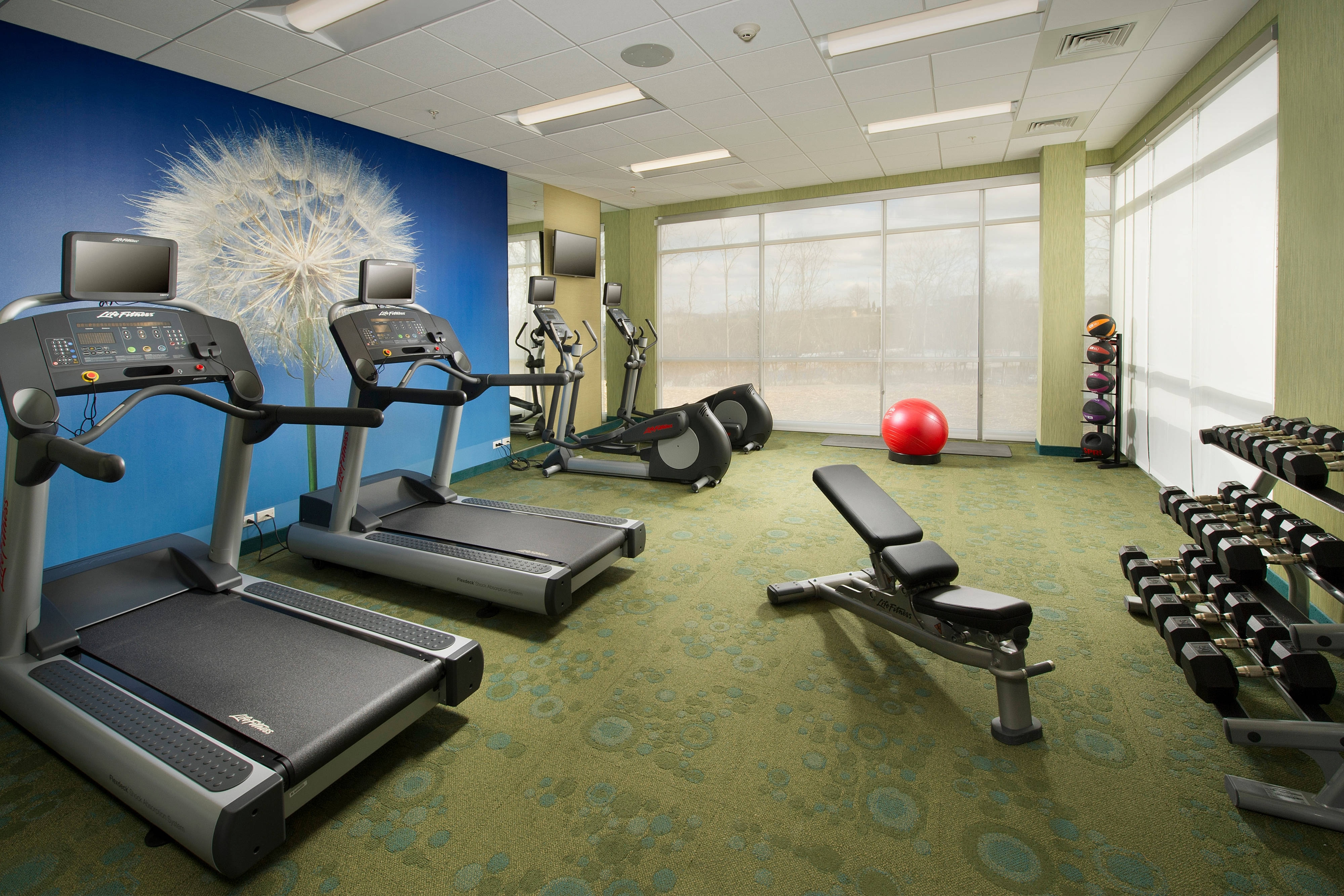 Bridgeport Hotel Fitness Center
