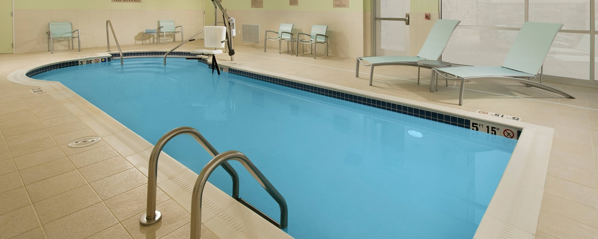 Indoor Pool SpringHill Suites Bridgeport