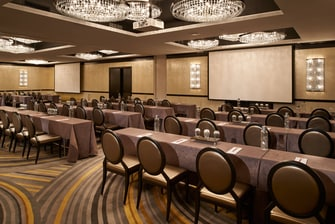 The Mint Ballroom – Classroom Setup