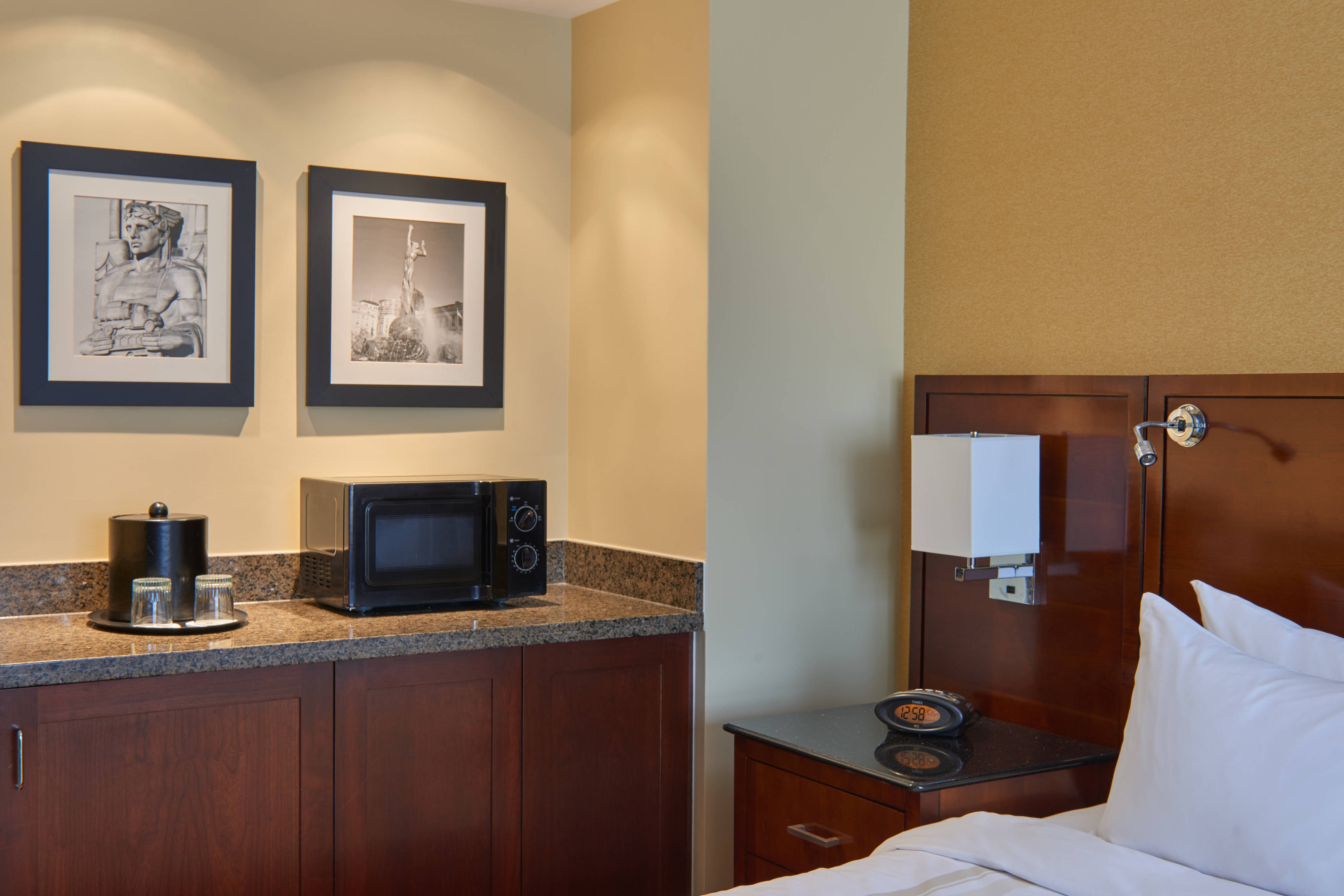 Larger King Guest Room - Amenities