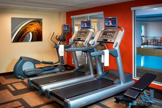 Cleveland airport hotel fitness center