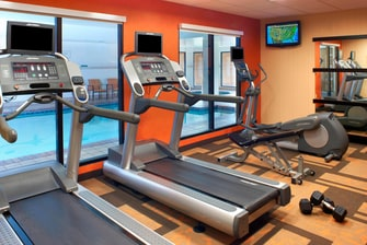 Westlake OH hotel fitness center