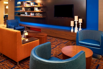 Rocky River OH hotel lobby
