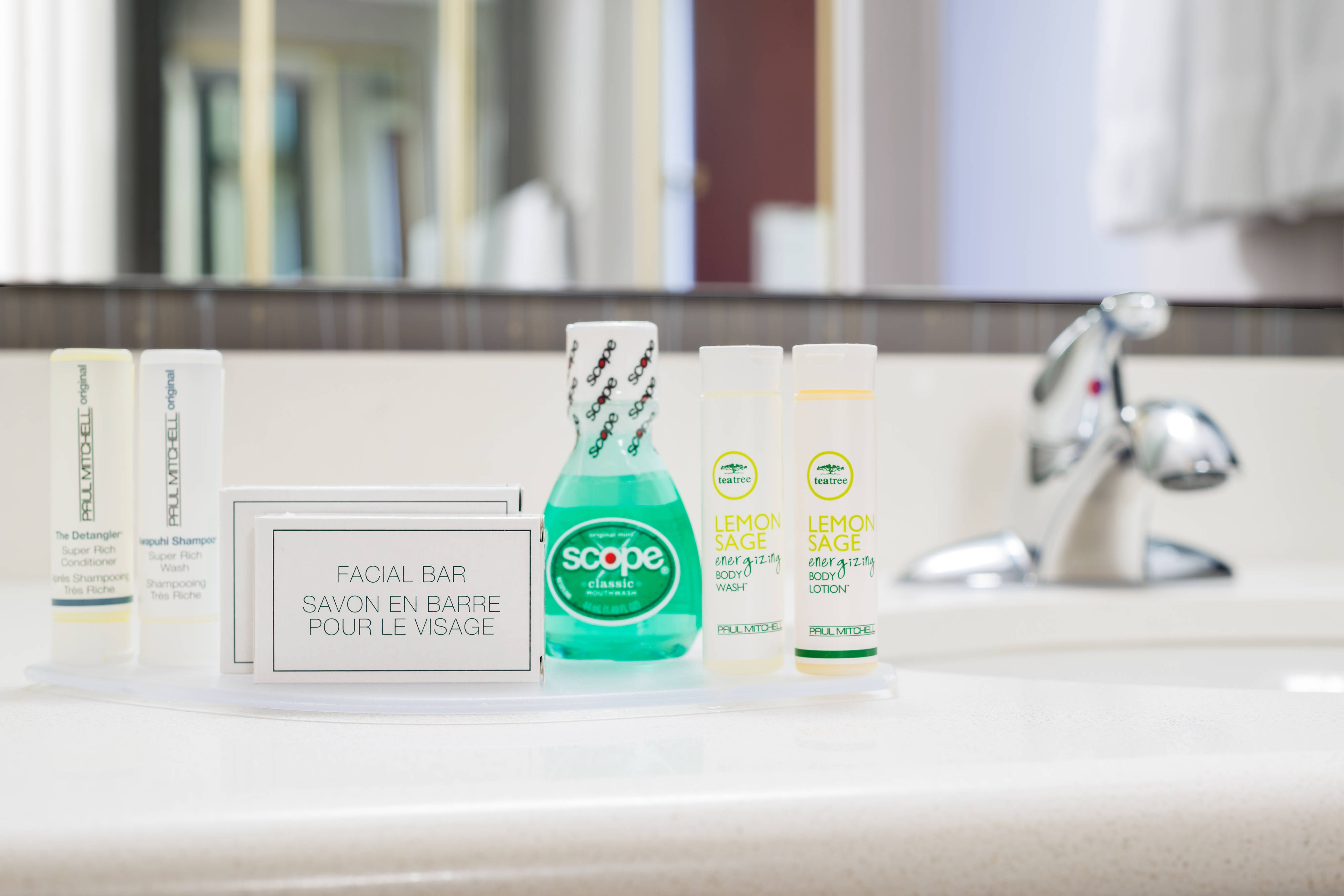 Executive King Guest Bathroom Amenities