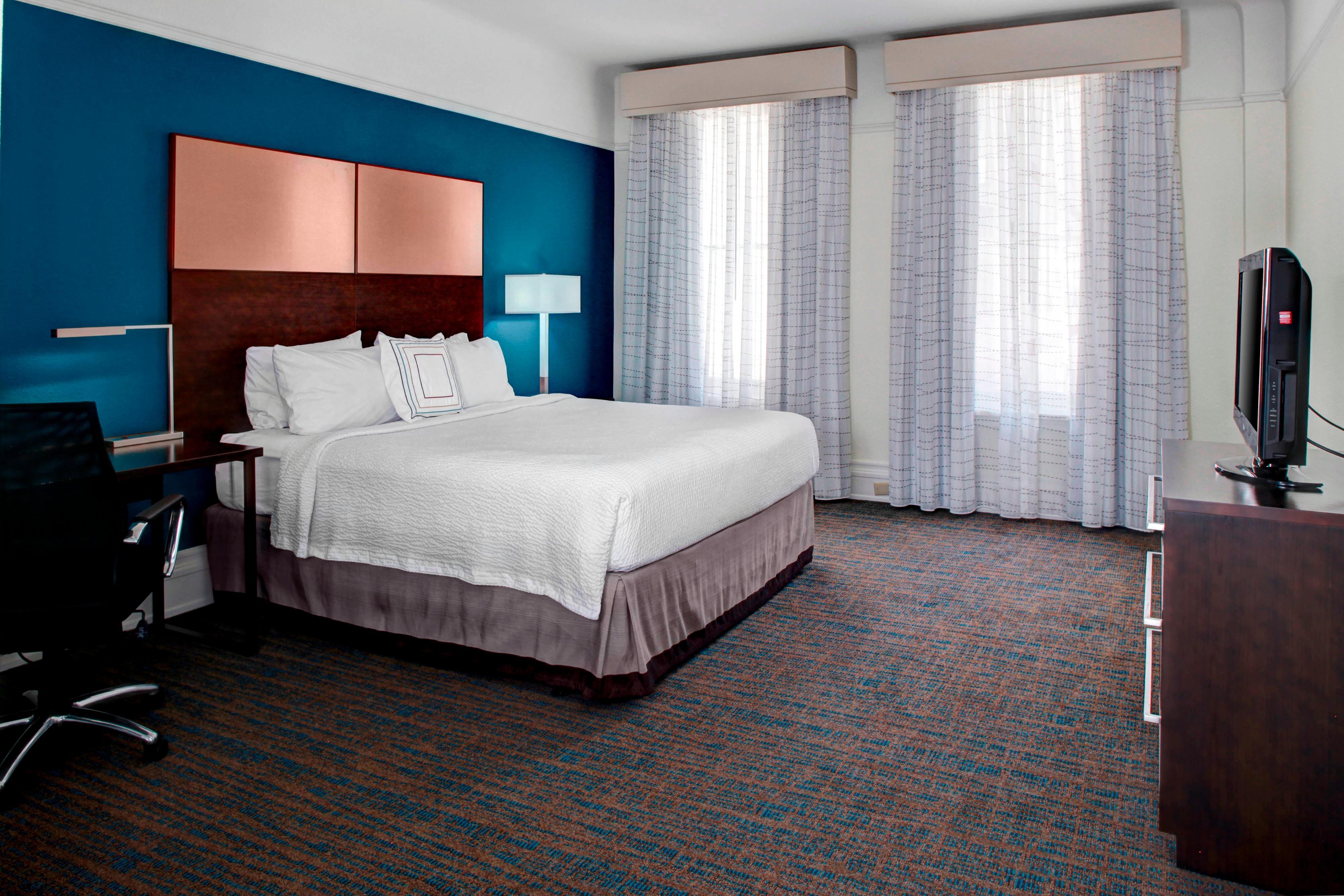 Suite mit einem Schlafzimmer und einem Kingsize-Bett