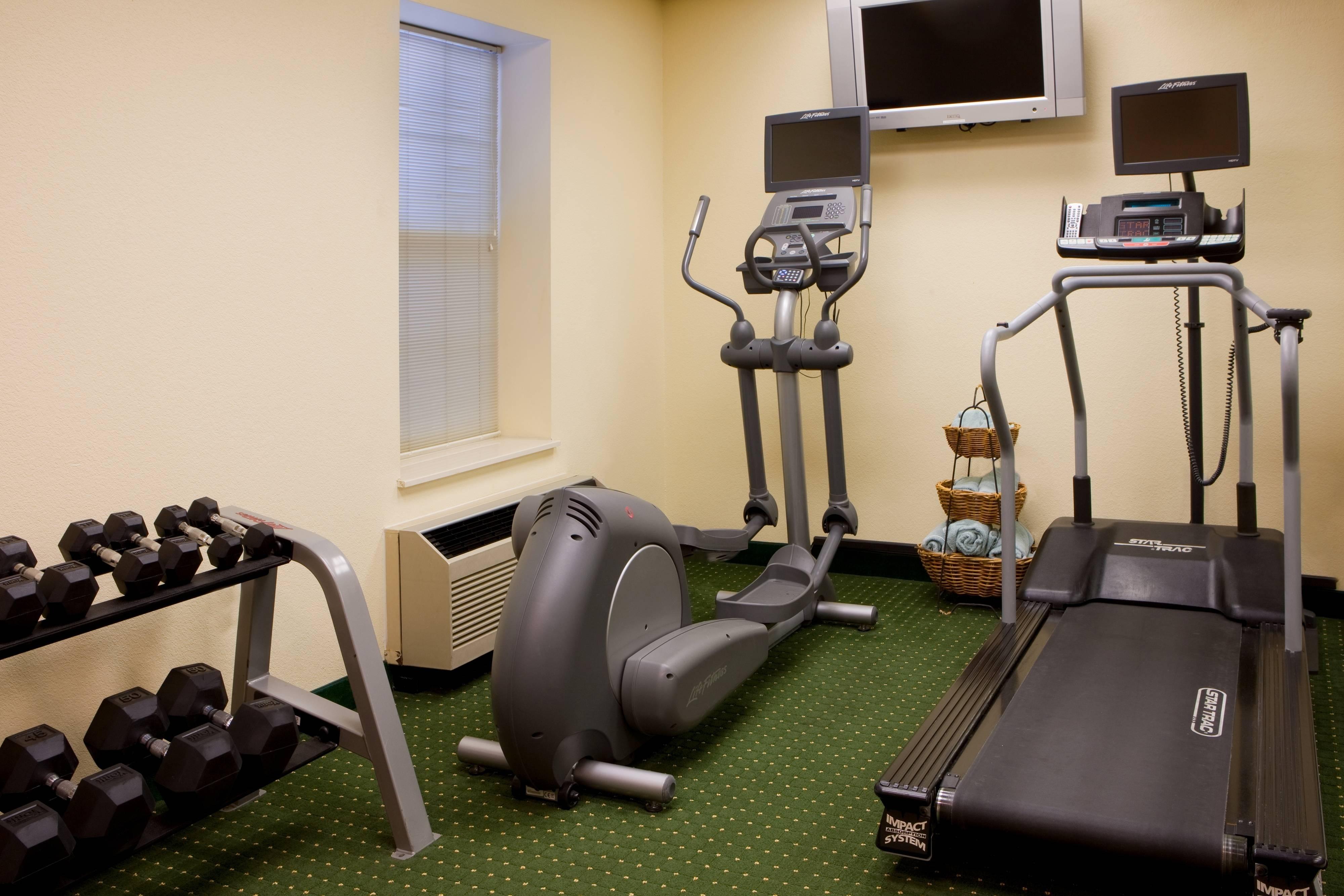 Hotel Gym Weights & Equipment