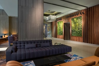 Westin Living Room and Vertical Garden