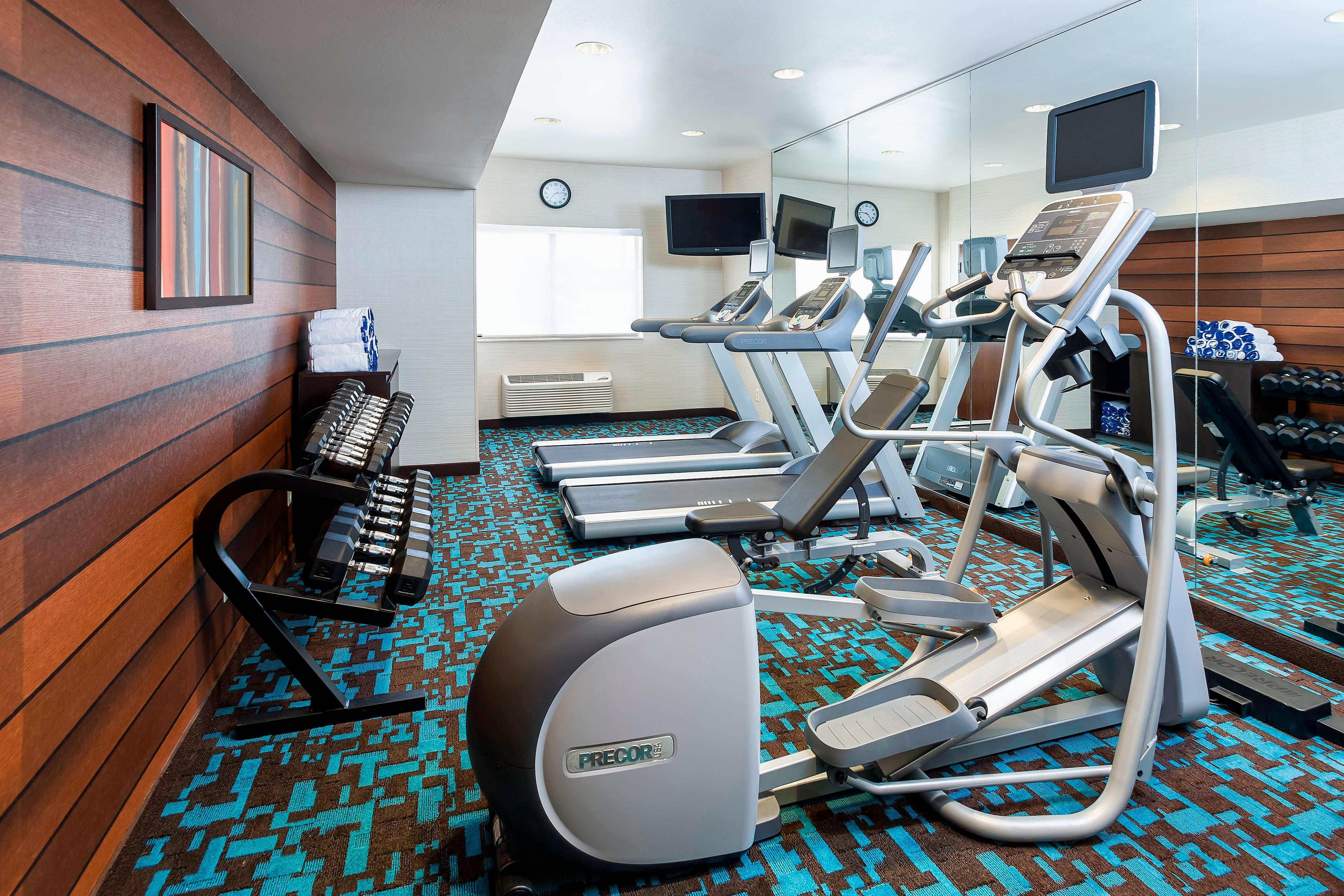 College Station TX Hotel Gym.