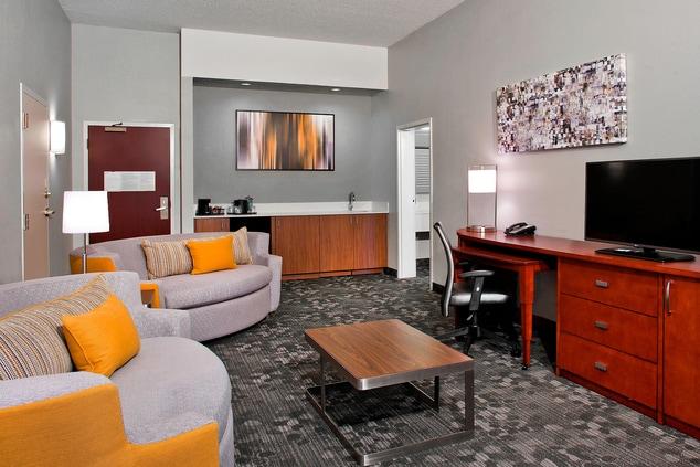 One-Bedroom Suite - Living Area