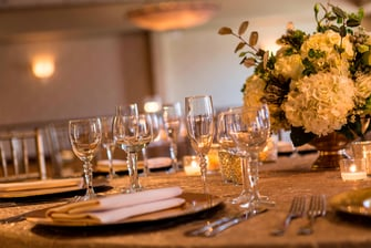 Toast to your celebration in a refined ballroom space.